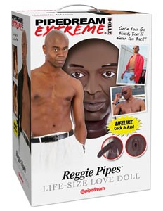 Pipedream Extreme Dollz Reggie Pipes Life-Size Love Doll
