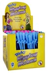 Dicky Sipping Straws Display 144 Pcs Assorted