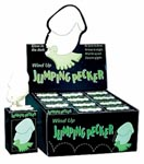 Display Wind Up Jumping Pecker Glow In The Dark - 12 Pcs