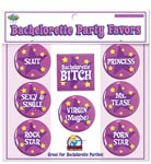 Bachelorette Party Favors Buttons