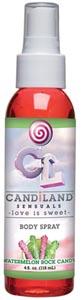 Candiland Sensuals Body Spray - Watermelon - 4 Oz