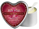3-In-1 For Play Suntouched Candle With Hemp - 4.7 Oz
