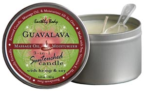 3-In-1 Guavalava Suntouched Candle With Hemp - 6.8 Oz