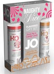 JO Naughty or Nice Flavored Gift Set