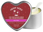 3-In-1 Wild Thing Suntouched Candle With Hemp - 4.7 Oz.
