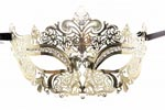 Princess Masquerade Mask Gold