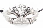 Princess Masquerade Mask Silver
