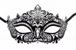 Princess Masquerade Mask Black