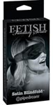 Fetish Fantasy Series Satin Blindfold - Black