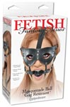 Fetish Fantasy Series Masquerade Ball Gag Restraint - Black