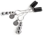Fifty Shades of Grey The Pinch - Adjustable Nipple Clamps