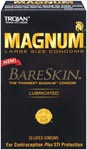 Trojan Magnum Bareskin Large Condoms - 10 Pack