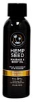 Dreamsicle Hemp Seed Massage and Body Oil - 2 Oz.