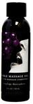 Gushing Grape Edible Massage Oil - 2 Oz.