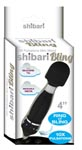 Shibari Bling Mini Wand - Black