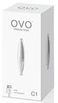 OVO C1 Rechargeable Mini Vibe Showerproof White