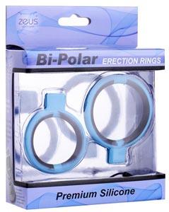 Bi-Polar Silicone Erection Rings