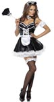 Fever Flirty French Maid Costume - Small
