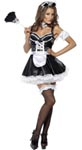 Fever Flirty French Maid Costume - Medium