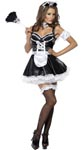 Fever Flirty French Maid Costume - Large