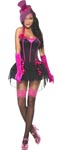 Fever Bow Burlesque Costume - Medium