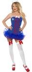 Fever Tutu Sailor Costume - Medium