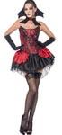 Fever Seductive Vamp Costume - Small