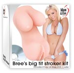 Bree's Big Tit Stroker Kit