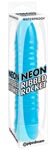 Neon Ribbed Rocket - Blue