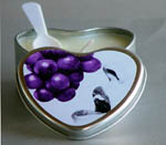 Grape Edible Heart - 4.7 Oz.