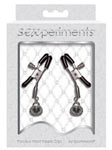 Sexperiments Precious Heart Nipple Clips