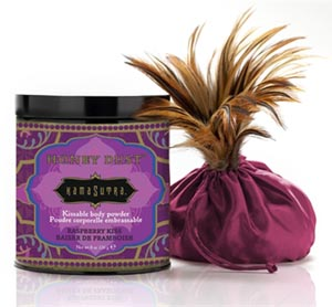 Kama Sutra Honey Dust - 8 Oz Raspberry Kiss