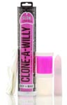 Clone-A-Willy Glow In The Dark Kit - Pink