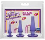 Crystal Jellies Anal Initiation Kit - Purple