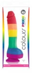 Colours Pride Edition - 8 Inch Dong - Rainbow