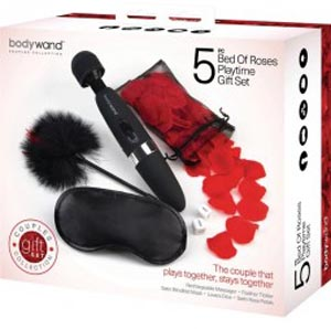 Bodywand Bed of Roses 5 Pc Playtime Gift Set