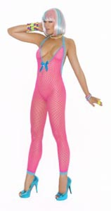Bodystocking - Neon Pink - One Size