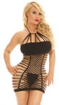 Cocolicious Make a Slash Seamless Dress - Black - One Size