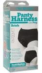 Vac- U- Lock Panty Harness With Plug - Briefs - S/ M