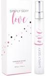 Simply Sexy Love Pheromone Infused Perfume - 0.34 Oz.