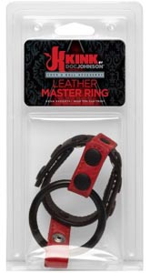 Leather Master Ring