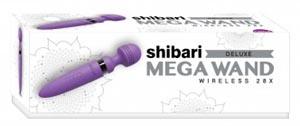 Shibari Deluxe Mega Wand Wireless 28x - Purple