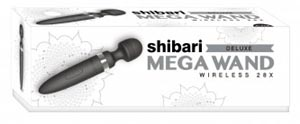 Shibari Deluxe Mega Wand Wireless 28x - Black