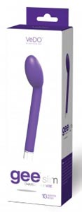 Geeslim Rechargeable G- Spot Vibe - Indigo