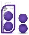 Luxe Double O Advanced Kegel Balls - Purple