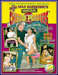 Best of Max Hardcore's Original Cherry Poppers Porn DVD