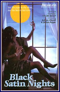 Black Satin Nights Porn DVD