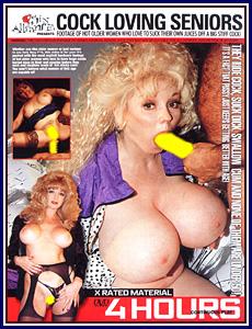 Cock Loving Seniors Porn DVD