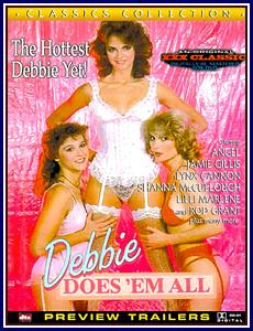 Debbie Does 'Em All Porn DVD