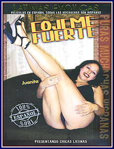 Latinas Exoticas Cojeme Fuerte Porn DVD